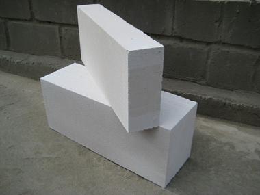 Ячеистый бетон.