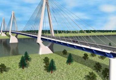 Строительство моста.