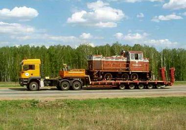 Перевозка собственным автотранспортом.