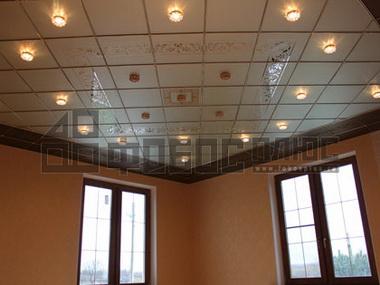«Дизайнерские» подвесные потолки.