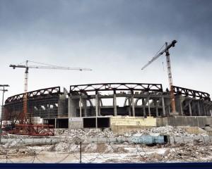 Смету на строительство стадиона в Минске уменьшат